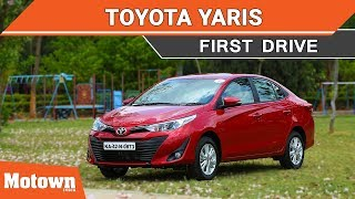 Toyota Yaris | First Drive Review | Motown India