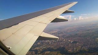 STUNNING 737-700 Sunset Takeoff - Views of Bucharest - Blue Air / Henri Coanda Intl