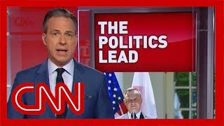 Tapper on Trump's answer: Do you have any idea what he's saying?