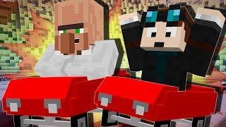 Minecraft | RACE CAR CHALLENGE | Mod Minigame