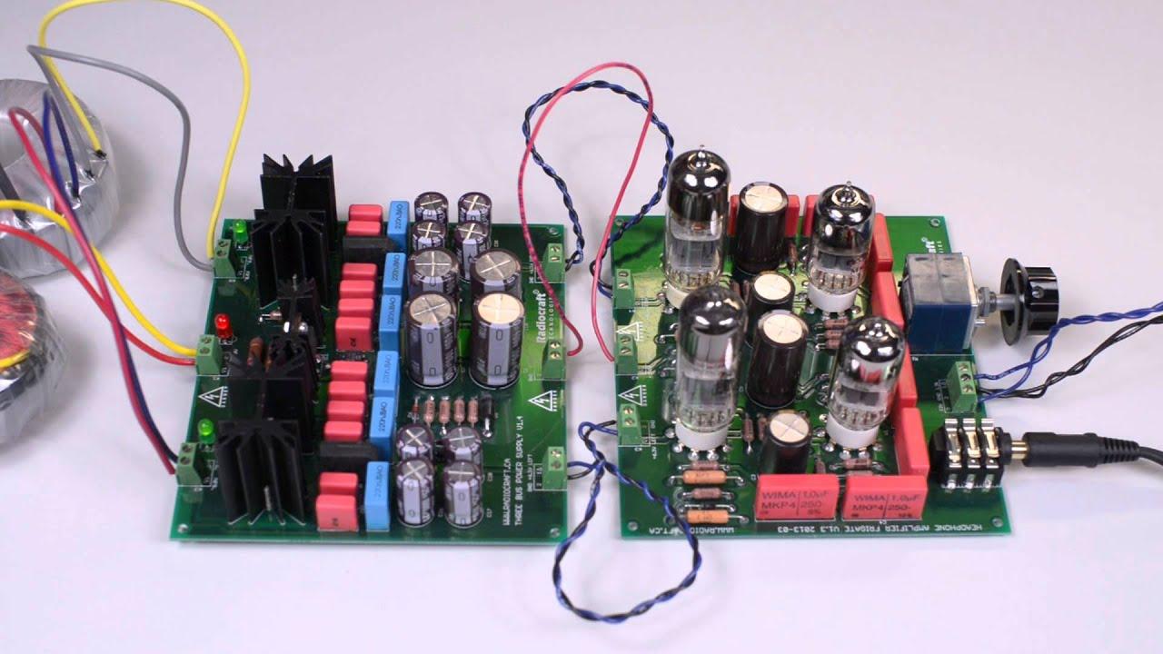 Tube Headphone Amplifier Kit Frigate