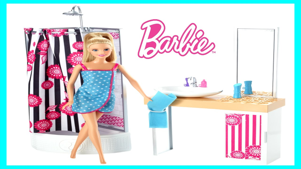 Barbie Deluxe Bathroom Life In The Dreamhouse Barbie Takes
