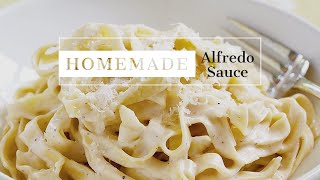 How to Make a Healthy Alfredo Sauce