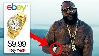 Rappers Who Flexed FAKE JEWELRY!