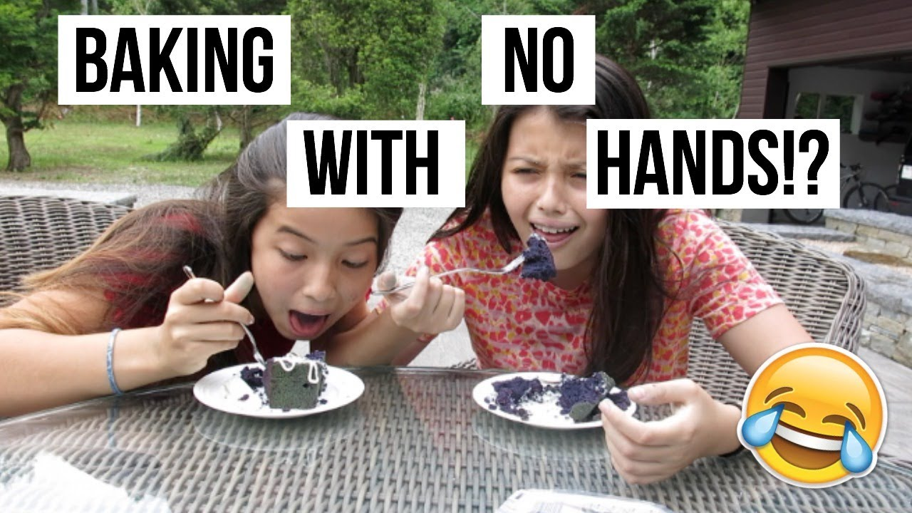 Download BAKING WITH NO HANDS!? W/ COCO