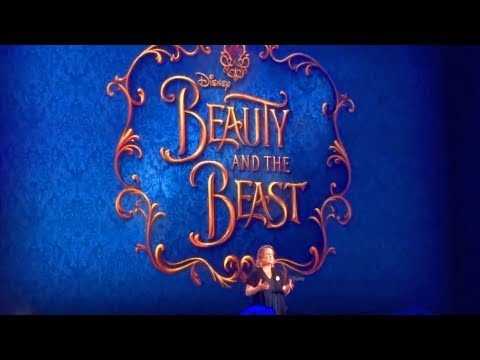 Beauty and the Beast Musical presentation for Disney Cruise Line - D23 Expo 2017
