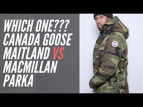 WHICH IS BETTER??? CANADA GOOSE MACMILLAN VS MAITLAND PARKA  | FULL REVIEW