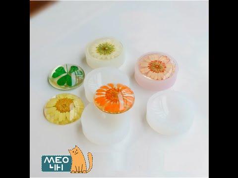 Resin tutorial   Hướng dẫn pha resin làm trang sức - by Meo4H   Resin