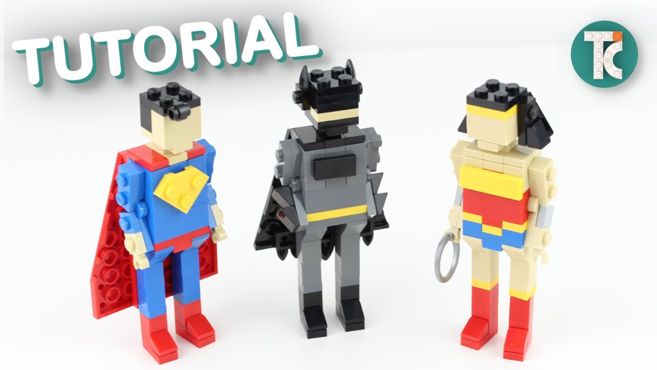 LEGO Batman, Superman and Wonder Woman ( Justice League Tutorial)