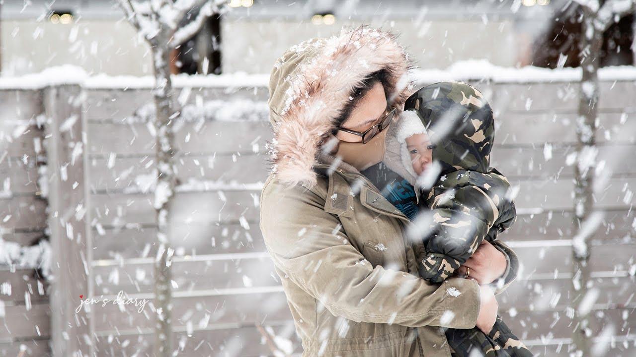 Snowstorm 2021 #BabiesReact