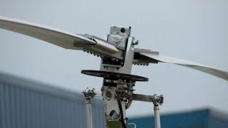 Spinning Gyrocopter Rotor Blade