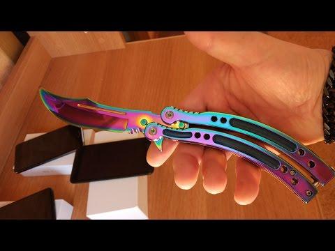Градиент нож бабочка Cs Go. Бабочка нож керамбит с Aliexpress
