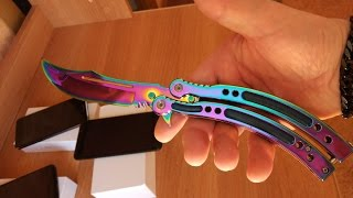 видео Нож керамбит на Алиэкспресс