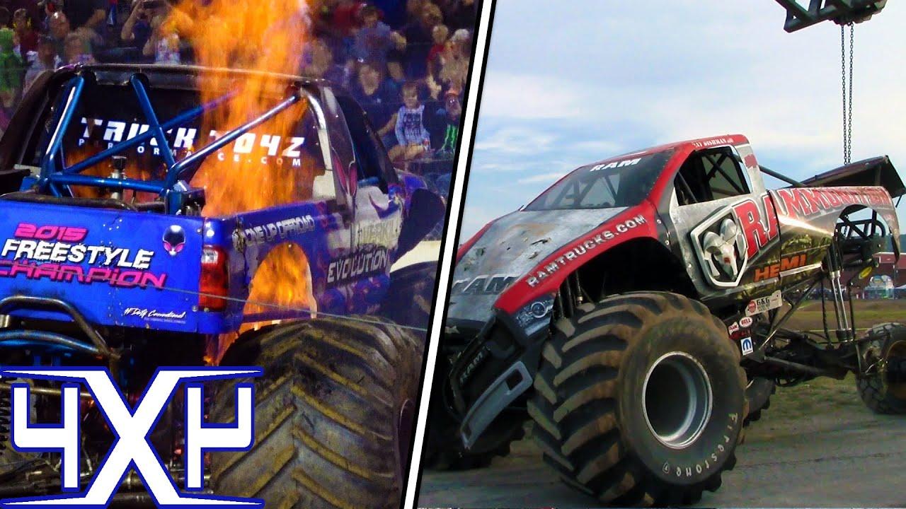 Monster Trucks And Tuff Trucks York Pa Fair 2018 Youtube