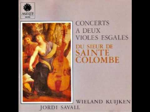 "Sainte Colombe ""Concerts A Deux Violes Esgales"" (Savall/Kuijken)"