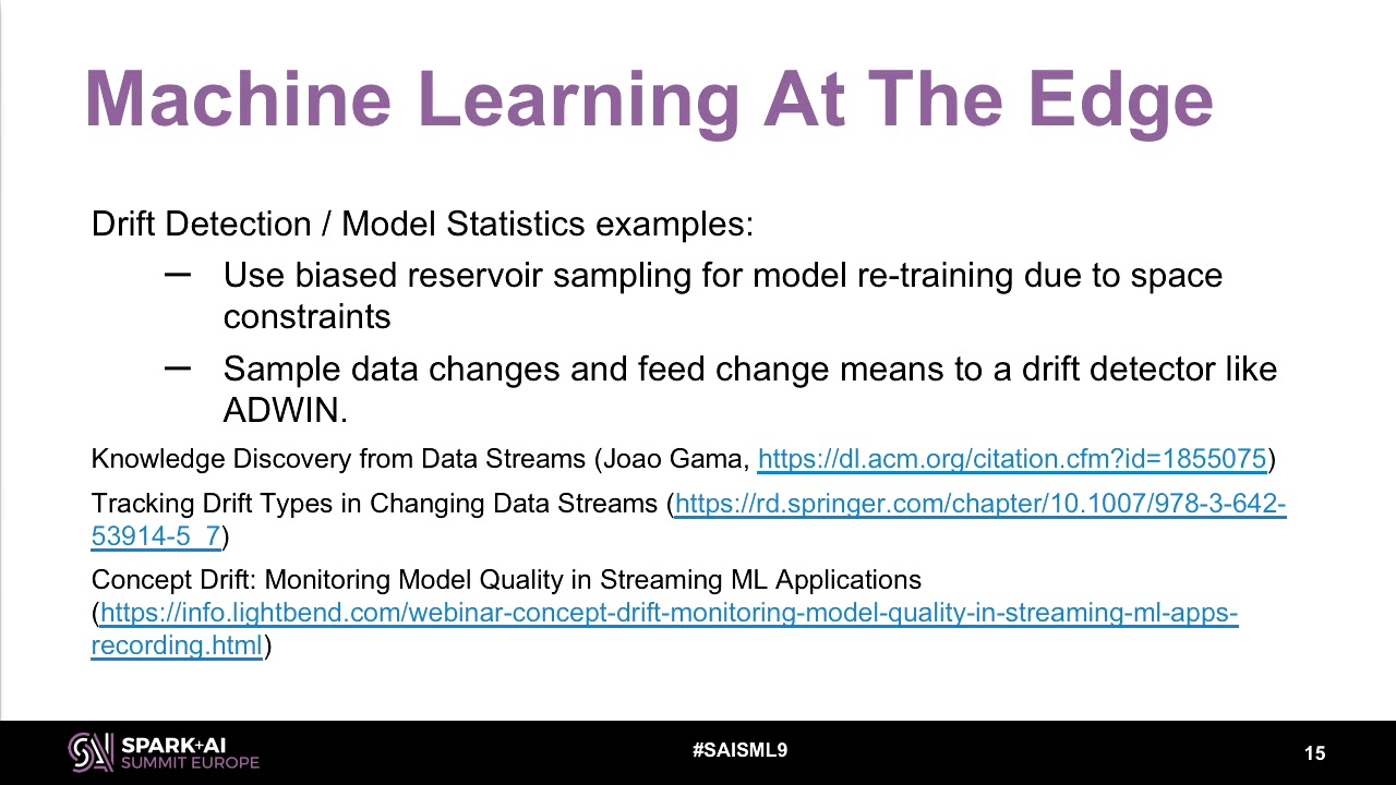 ML at the Edge: Building Your Production Pipeline with Apache Spark &  TensorFlow w/Stavros Kontopoul