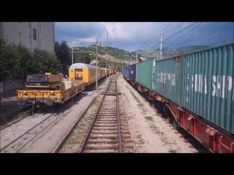Cab ride train Rijeka-Moravice Croatia