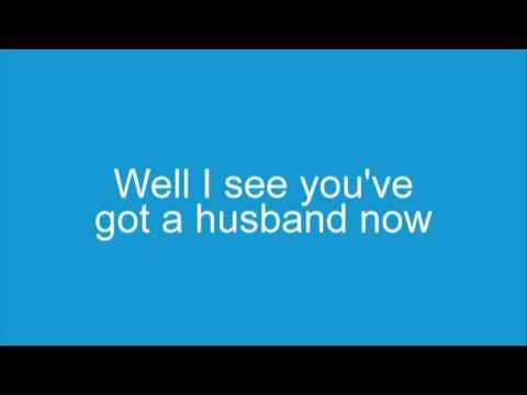 Elvis Costello Alison, Lyrics on screen