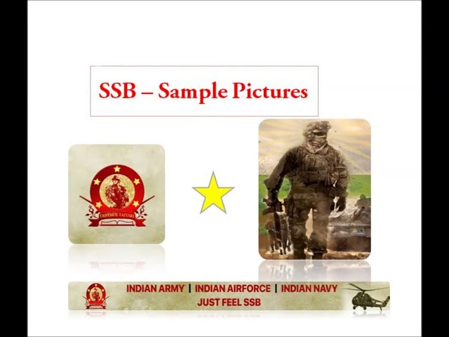 PPDT I ( Picture Perception & Description Test) PICTURES FOR PRACTICE | Defence Taiyari