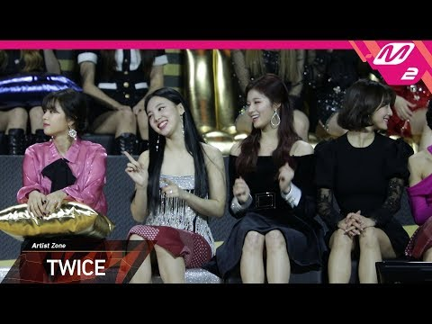 [2018MAMA x M2] 트와이스(TWICE) at 아티스트 존(Artist Zone) in HONG KONG