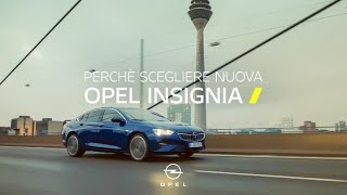 Opel Insignia. Il meglio dell'ingegneria tedesca.