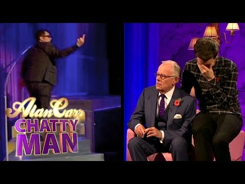 Jack Whitehall's Dad Makes Alan Carr Walk Off Stage  Alan Carr Chatty Man