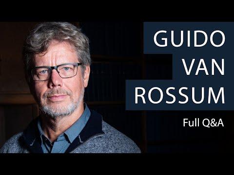 Creator of Python Programming Language, Guido van Rossum   Oxford Union