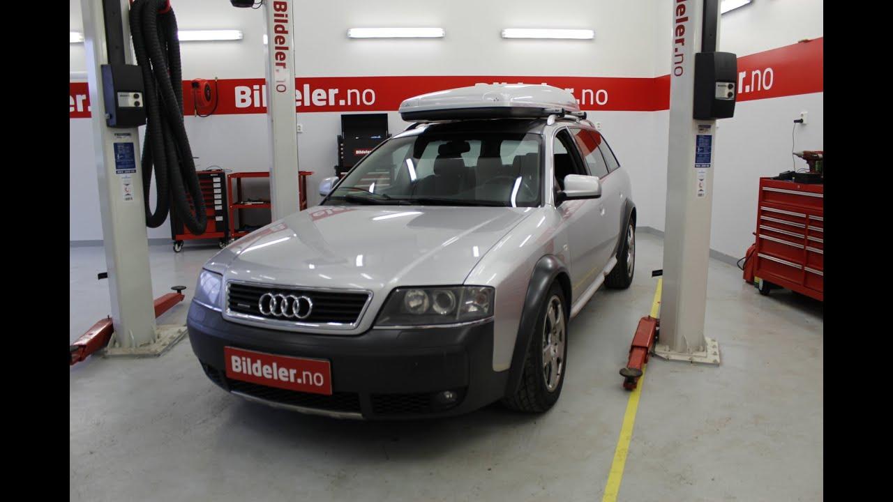 Audi A6 Allroad Hvordan Bytte Ytre Drivledd Audi A4 A8