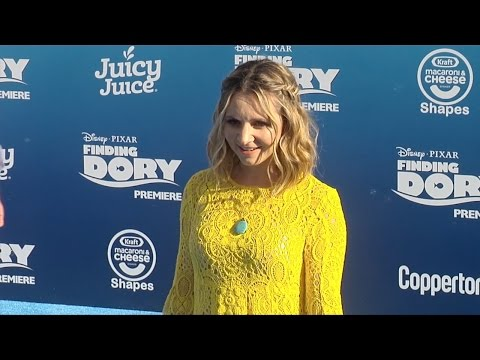 "Beverley Mitchell ""Finding Dory"" Premiere Blue Carpet"
