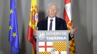 Discurso del presidente de Tabarnia Albert Boadella