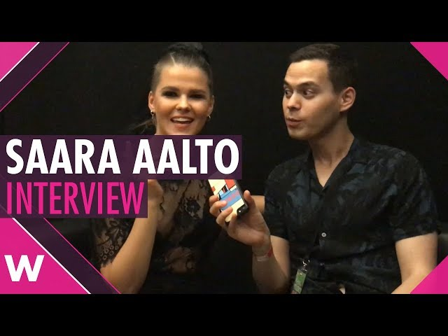 Saara Aalto @ Steps Tour Kew the Music, London (Interview)