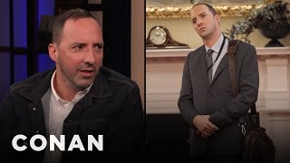 """Tony Hale On The """"Veep"""" Prop That He Took Home - CONAN on TBS"""