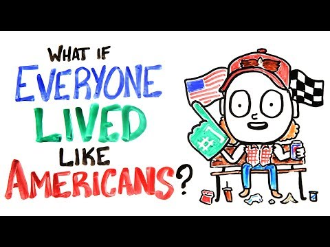 Download Youtube: What If Everyone Lived Like Americans?