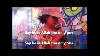 """Faridah Harris """"SAY HE IS ALLAH"""""""