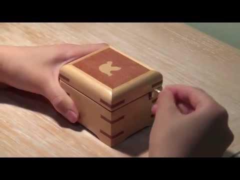Wooden Music Box - SILENT NIGHT