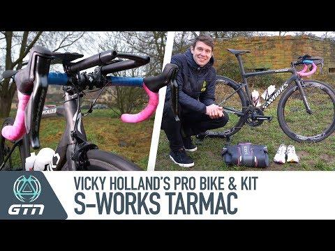 Vicky Holland's Specialized S-Works Tarmac Pro Triathlon Bike And Kit
