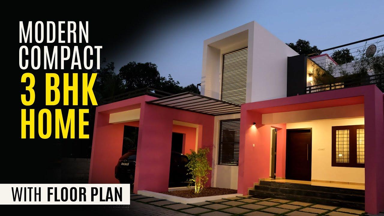 Stylish Modern Budget House | Kerala Home Design | Compact Minimal Home | Better Design Studio
