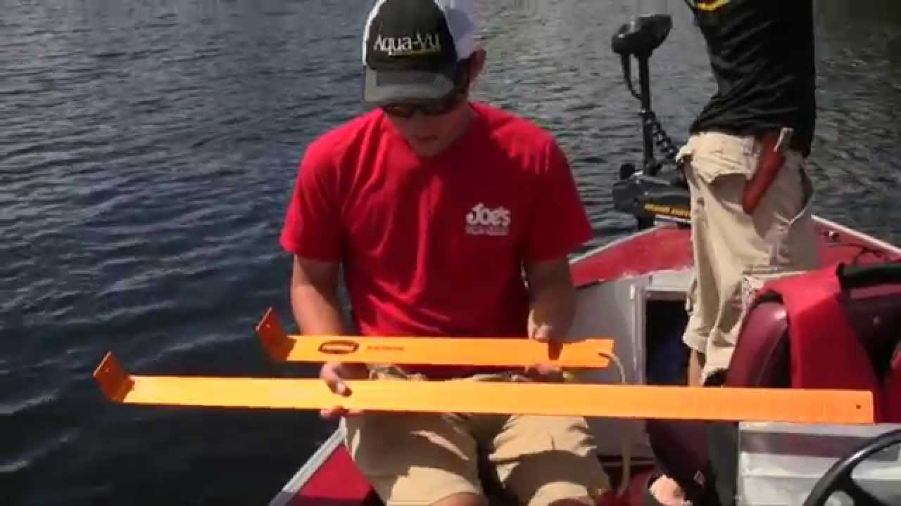 Measure fish accurately with the frabill benchmark youtube for How to not get seasick on a fishing boat