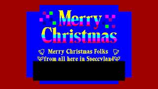Musical Christmas Greeting - Garry Rowland  [#zx spectrum AY Music Demo]