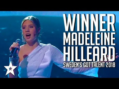 WINNER MADELEINE HILLEARD: Sweden's Got Talent 2018 | All Auditions