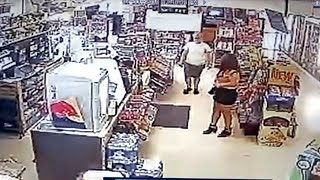 How one clerk saved a woman who was kidnapped