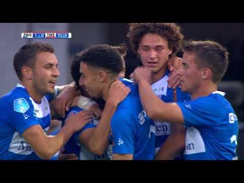 Samenvatting PEC Zwolle - FC Twente: 2-0
