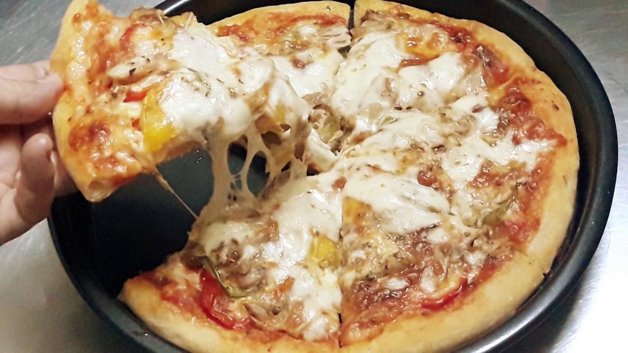 Món ăn khuya: Bánh PIZZA Italia thơm ngon (chia sẻ chi tiết nhất, làm tại nhà) của Đậu Đỏ Trần
