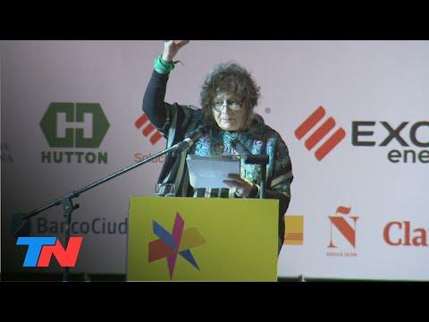 """Rita Segato en la Feria del Libro: """"Sí al aborto legal, seguro y gratuito"""""""