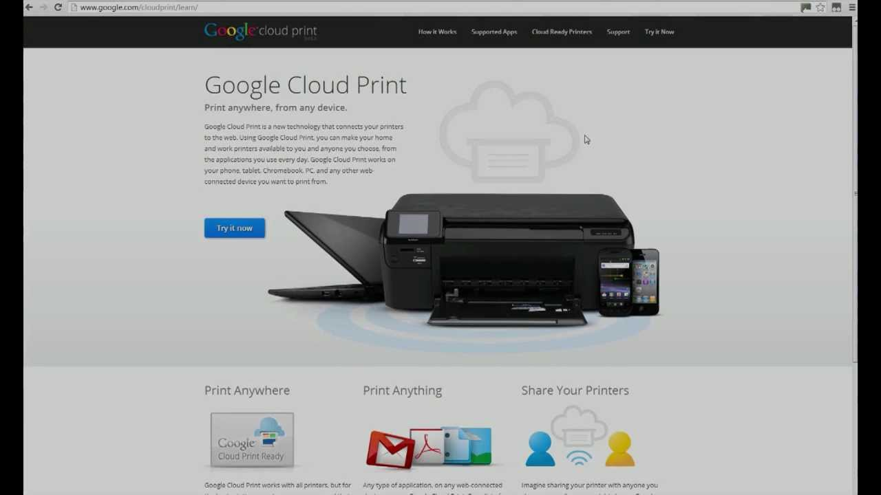 Camera Printing From Android Phone google cloud print how to files from your android phone any printer for free