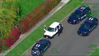 Alleged car thief asleep at the wheel