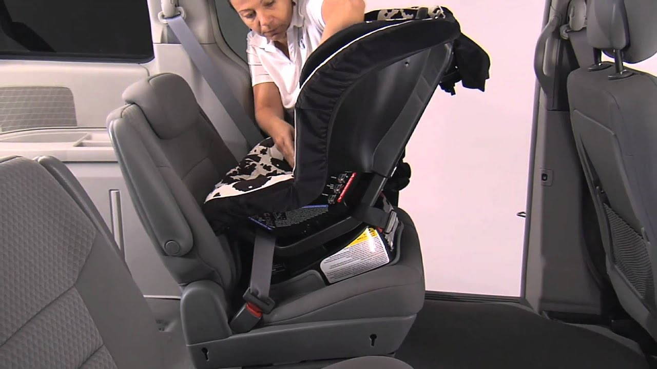 Britax Convertible Car Seats Rear Facing Installation Using Lap Shoulder Belt And One Lock Off