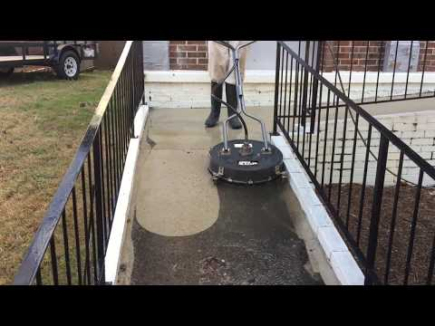 Pressure Washing With NorthStar Surface Cleaner