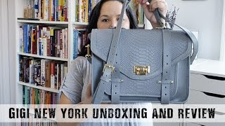 GiGi New York Unboxing and Review of Two Bags