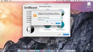 Hướng dẫn tạo USB Boot và cài đặt Mac OSX 10.10